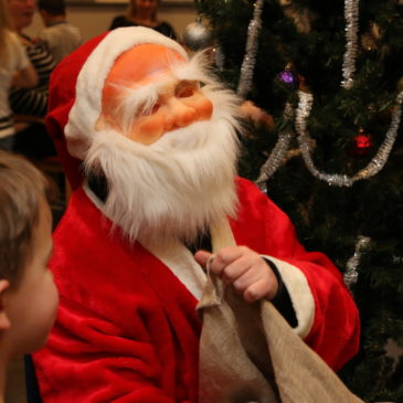 Julgransplundring i Hagalund
