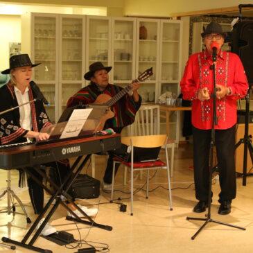 Musikcafé med svängiga rytmer