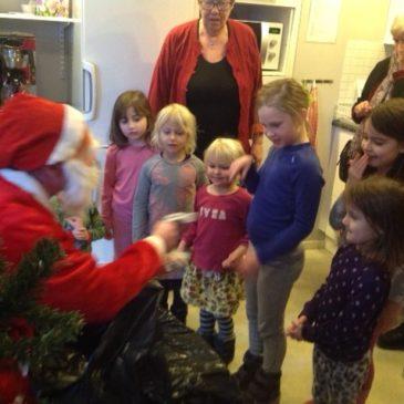 Lyckad julgransplundring