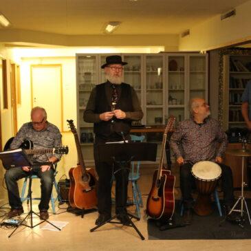 Musikcafé med blues