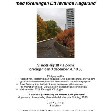 Höstmöte torsdagen den 3 december
